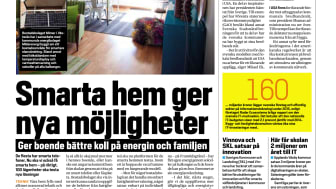 """Dagens Samhälle: """"Smarta hem ger nya möjligheter"""""""