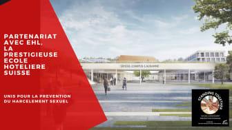 La Fondation Non-Violence Project renforce son partenariat avec l'EHL, la prestigieuse école hôtelière, sur la prévention du harcèlement sexuel