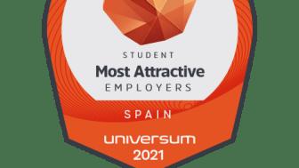 Mondelēz International, en el Top 100 de las empresas más atractivas para trabajar según los estudiantes españoles