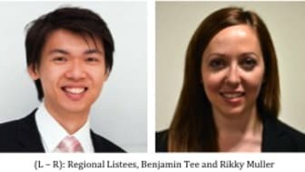 2 Regional Listees makes the Global MIT Technology Review magazine Innovators Under 35 List