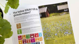 KRAVs hållbarhetsrapport för 2018.