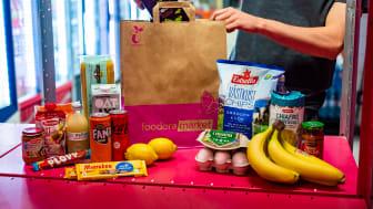 foodora expanderar - öppnar 15 nya matbutiker på fem månader