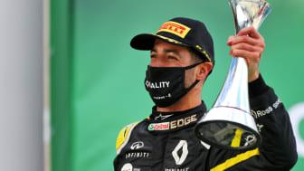 Ricciardo tar' podieplads