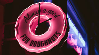 Doughnut Forget Us: Forget branded pens, try treats instead.