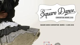 Sveriges 36:e Square Dance Convention gästar Borås 2018