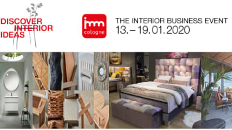 imm cologne - The Interior Business Event 13-19 januari 2020