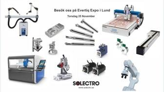 Solectro AB ställer ut på Evertiq Expo i Lund