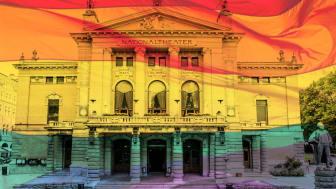 Nationaltheatret arrangerer skeive dager 20. og 21. juni i Publikumsfoajeen.