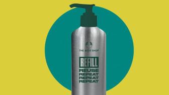 The Body Shop relanserar refill i sina butiker med start i April i Sverige.