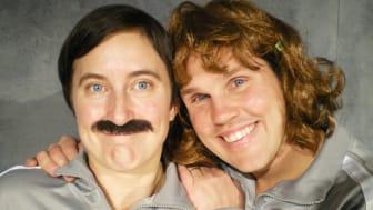 Fru och Herr Knäpp får ett barn  –  Teater Tropos