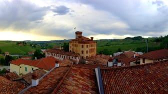 Barolo - utsikt från Borgognos vineri