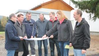 Neues Schalthaus samt Erdverkabelung in Pleystein