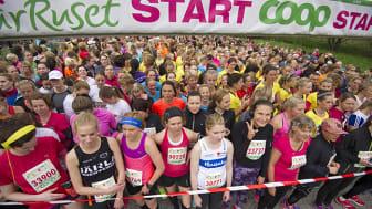 VårRusets tjejer springer 14 varv runt jorden