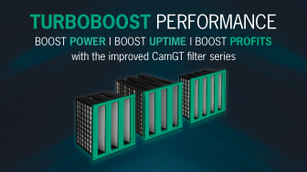 New CamGT Air Inlet Filter Line Boosts Power, Uptime and Profits