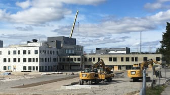 Lindbackaskolan - den nya högstadieskolan i Lindesberg tar form.