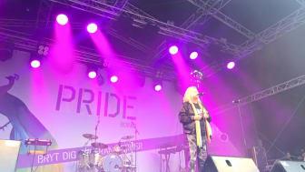 Glädje och löften när Borås första Pride invigdes