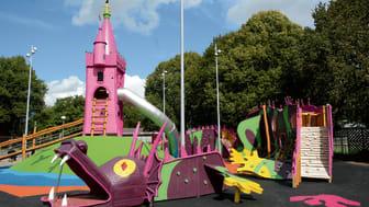 Pressinbjudan: Prinsessor och drakar intar Drottninghög på lördag