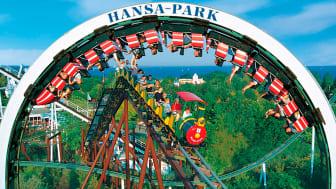 Hansa Park i Nordtyskland er et must på børn og barnlige sjæle. Det er bare en af de mange oplevelser, du kan komme tættere på på Scandlines' nye site 'Tæt på Tyskland'.
