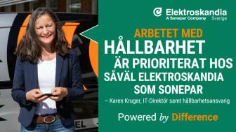 Intervju med Karen Kruger, IT-Direktör och Hållbarhetsansvarig på Elektroskandia