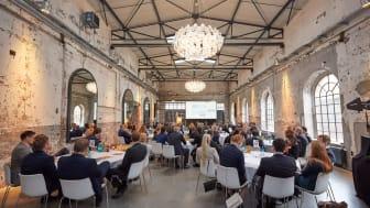 FeuerTrutz Trend ist das Experten-Netzwerk: Hier steht neben den Impulsvorträgen vor allem der Austausch der Teilnehmer untereinander und mit den Referenten im Vordergrund. Foto: Axel Schulten.
