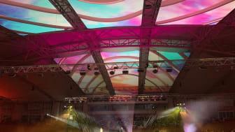 Epson Indonesia Memeriahkan Konser Magenta Orchestra 15 dengan Projection Mapping