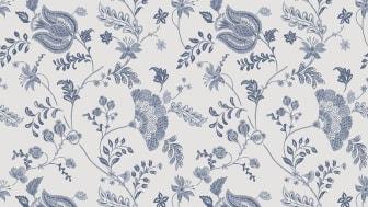 Wallpaper Scandinavia 10x0,53 m Loka Blue white Non-woven