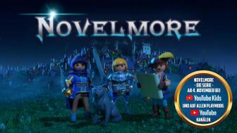 Neue Abenteuer mit den Helden aus NOVELMORE