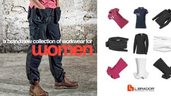 L.Brador vill förändra branschen genom ny kollektion arbetskläder för kvinnor