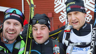 Emil Jönsson, Zebastian Modin och Jerry Ahrlin