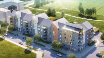 Pressinbjudan: Riksbyggen byggstartar Örebros första Bonum seniorboende