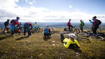 Terrengsykkelfestivalen Utflukt er et av flere arrangement under Trysil Bike Festival