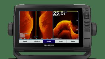 Das neue Ultra HD Echolotsystem liefert gestochen scharfe Bilder bis zu einer Tiefe von 60 Metern.