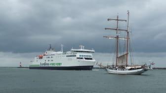 Berlin Warnemünde schooner