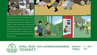 Ny skrift: From common to private ownership – forest tenure development in Sweden 1500–2010