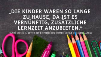 Dietrich-Bonhoeffer-Schule bietet Ostercamp an