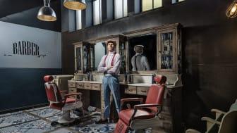 Barber Furniture erbjuder vintageinredning till barbershops