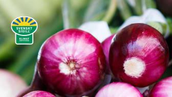 Mat och blommor märkta med Svenskt Sigill Klimatcertifierad kommer från svenska gårdar som gör allt för att minska sin klimatpåverkan