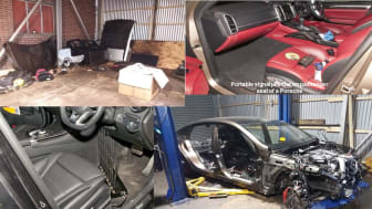 Stolen cars and equipment used