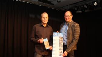 Bühne frei für das kommende Jahresprogramm: Claus Brinkmann (l.) und seine ehrenamtlichen haben in 2020 wieder einiges vor. Frank Wohlgemuth Kommunalreferent bei WWN ist schon gespannt.