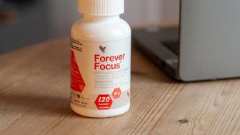 Forever Focus för dig som vill ha en aktiv livsstil och vara alert hela dagen.