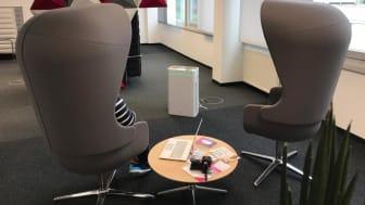AiroDoctor® im Meeting Raum und Büro