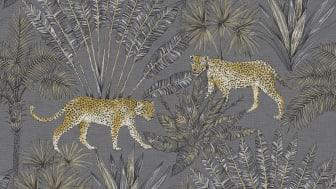 Wallpaper Boutique 10x0,53 m Savanna Gray Non-woven