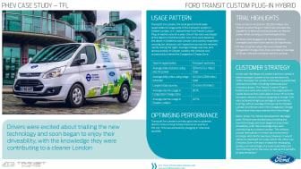 Fakta Transit Custom PHEV London-test
