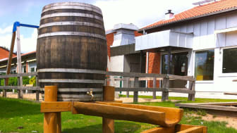 Vattenlek från Woodwork