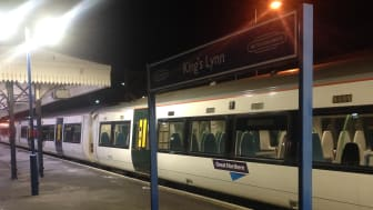 Kings Lynn where trains will double in length