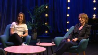 Julia Zigiotti Olme och Paula af Malmborg Ward i Spotlight