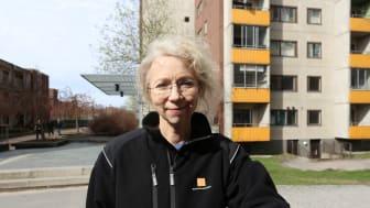 Chris Österlund, vd Botkyrkabyggen, i Fittja där hyresgästernas betyg till bostadsbolaget höjts rejält