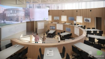 M-huset, Teknodromen (interiört), Lunds Tekniska Högskola