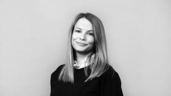 Rebecka Ovesen Wågert, nygammal fastighetsmäklare på Våningen & Villan i Malmö.