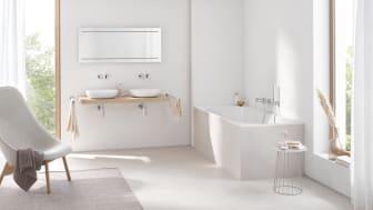 De fleste nordmenn vil velge en skandinavisk og minimalistisk stil dersom de skal pusse opp badet.